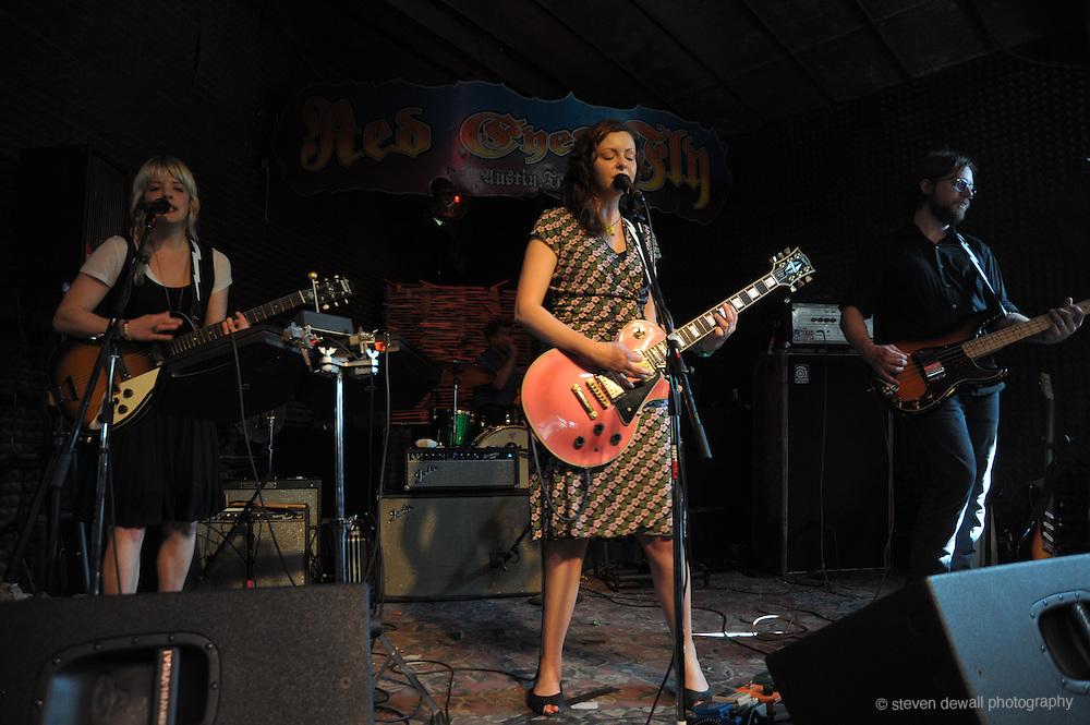 Viva Voca perform Red Eye Fly @ the SXSW Music Festival, Austin, Texas