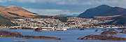 High resolution Panorama picture of Ulsteinvik, Norway | Høgoppløslig panoramabilde av Ulsteinvik.