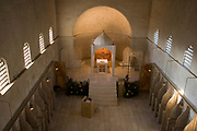 Interior of the Beit Jamal Monastery<br /> The Salesian monastery of Beit Jamal was originally established as an agricultural school in 1881 and later operated as a medical facility. While there is a small group of nuns at Beit Jamal – they do not belong to the Salesian Sisters, but rather to the Sisters of Bethlehem, of the Assumption of the Virgin and of Saint Bruno. These nuns have taken a vow of silence.
