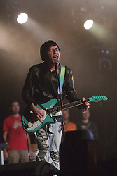 Ryan Jarman of The Cribs plays the King Tuts Wah Wah tent. Friday at T in the Park 2012, held at Balado, in Fife, Scotland..