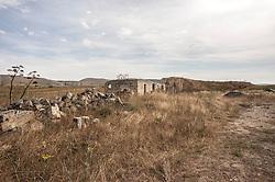 piccola cava in disuso distante circa 4 km da Poggiorsini