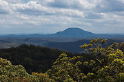Views from Finchley Lookout , Yengo National Park, Lower Hunter region, New South Wales. It forms part of the Greater Blue Mountains World Heritage area.