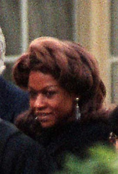 Sarah Kyolaba Amin, 42, leaving London Snaresbrook Crown Court. Sarah Kyolaba, who was the 5th wife of deposed Ugandan dictator Idi Amin,was warned she had come close to being jailed for running a restaurant infested with cockroaches and mice.
