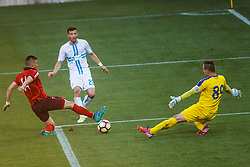 Alexander Gorgon #20 of HNK Rijeka during football match between HNK Rijeka and HNK Cibala in Round #35 of 1st HNL League 2016/17, on May 21st, 2017 in Rujevica stadium, Rijeka, Croatia. Photo by Grega Valancic / Sportida