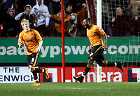 London, England - Saturday, March 29th, 2008: Wolverhampton Wanderers' Sylvan Ebanks-Blake celebrates scores the second goal against Charlton Athletic during the Coca Cola Championship match at The Valley. (Pic by Chris Ratcliffe/Propaganda)