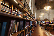 New york public library on fifth avenue, midtown Manhattan  New York  United States