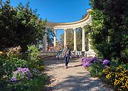 Łańcut, 2018-25-11. Glorieta w parku pałacowym w Łańcucie. iZamek Lubomirskich i Potockich w Łańcucie, dawna rezydencja magnacka z 1 połowy XVII wieku.