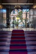 Milan. entrance in Porta Venezia