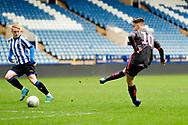 Leeds United Niall Huggins (10)  during the U23 Professional Development League match between U23 Sheffield Wednesday and U23 Leeds United at Hillsborough, Sheffield, England on 3 February 2020.
