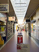 Interior view of Cambridge Place Mall, between Tay and Esk Streets, Invercargill, New Zealand