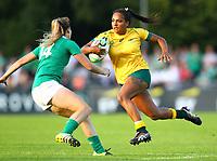 Rugby Union - 2017 Women's Rugby World Cup (WRWC) - Pool C: Ireland vs. Australia<br /> <br /> Australia's Mahalia Murphy in action against Ireland's Eimear Considine , at the UCD Bowl, Dublin.<br /> <br /> COLORSPORT/KEN SUTTON