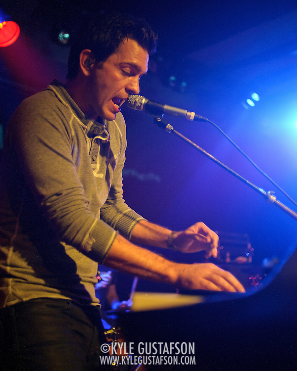 VIENNA, VA - February 8th, 2012 - Singer-songwriter Andy Grammer performs a sold-out show at Jammin' Java in Vienna, VA. Grammer's self-titled debut album debuted at #94 on the Billboard Hot 100 last year.  (Photo by Kyle Gustafson/For The Washington Post)