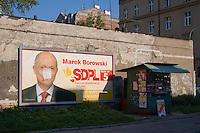 Poster for Marek Borowki SDPL party in Krakow Poland