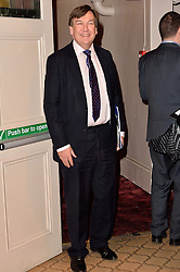 © Licensed to London News Pictures. 08/03/2016. JOHN WHITTINGDALE attends the Motown The Musical press night. Motown hits featured in the production include Dancing In The Street, I Heard It Through The Grapevine and My Girl. London, UK. Photo credit: Ray Tang/LNP