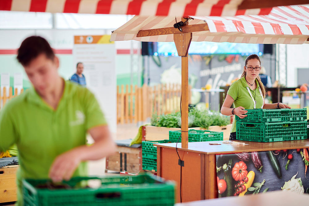 Gemüsegärtner/in EFZMaraîcher CFC / Maraîchère CFCOrticoltore (AFC) / Orticoltrice (AFC), OdA AgriAliForm. © Manu Friederich