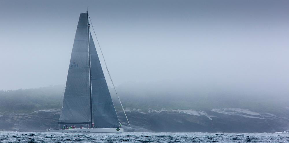 RAMBLER, Sail Number: USA 25555, Owner/Skipper: George David, Class: IRC 1, Yacht Type: RP 90 WB, Home Port: Farmington, CT, USA