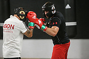 Boxen: Agon Sports, Berlin, 17.07.2020<br /> Björn Schicke und Artur Mann<br /> © Torsten Helmke