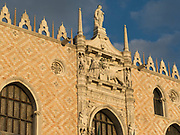 Palazzo Ducale, Doge's residence and formerly the seat of Venetian government.