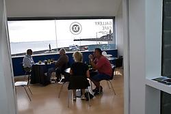 Newlyn Art Gallery cafe, Cornwall UK