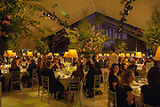 CARTIER CHELSEA FLOWER SHOW DINNER Dinner hosted by Cartier in celebration of the Chelsea Flower Show was held at Battersea Power Station. 22 May 2012