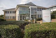 Oracle in Optima House modern high-tech businesses located in Cambridge Science park, Cambridge, England founded by Trinity College in 1970, is the oldest science park in the United Kingdom.