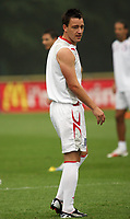 Photo: Chris Ratcliffe.<br />England Training Session. FIFA World Cup 2006. 28/06/2006.<br />John Terry in training.