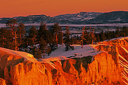 Image of Bryce Canyon National Park, Utah, American Southwest, in winter by Andrea Wells