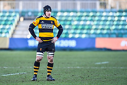 Newport's Kyle Tayler - Mandatory by-line: Craig Thomas/Replay images - 04/02/2018 - RUGBY - Rodney Parade - Newport, Wales - Newport v Ebbw Vale - Principality Premiership
