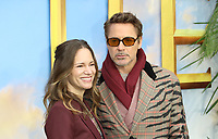 Robert Downey Jr and Susan Downey, Dolittle Special Screening, Leicester Square, London, UK, 25 January 2020, Photo by Richard Goldschmidt
