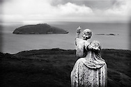 Madonna With Child Statue, Heaval, Isle Of Barra, Scotland