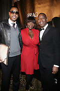 l to r: BJ Coleman, Beverly Smith and Gary L. Lampley at The BRAG 38th Annual Scholarship & Awards Dinner Dance held at Cipraini- Wall Street on October 17, 2008 in New York City ..BRAG?s Annual Scholarship and Awards Dinner Gala highlights the achievements of distinguished leaders in retail and related industries who believe and support the BRAG vision.  It also provides financial scholarships to deserving students who exhibit financial need.  BRAG, through this event, offers its members networking opportunities, introduces its members to CEOs and other senior corporate executives, and supports professional development. The Gala also serves as the organization's key fundraising event for its scholarship, mentoring, and training program