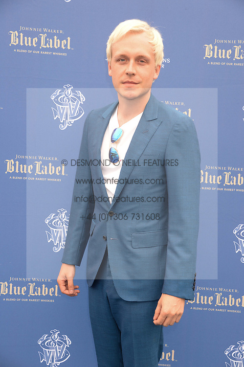 The Johnnie Walker Blue Label and David Gandy Drinks Reception aboard John Walker & Sons Voyager, St.Georges Stairs Tier, Butler's Wharf Pier, London, UK on 16th July 2013.<br /> Picture Shows:-Ben Hudson.