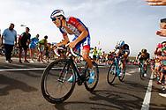 Thibaut Pinot (FRA - Groupama - FDJ), during the UCI World Tour, Tour of Spain (Vuelta) 2018, Stage 9, Talavera de la Reina - La Covatilla 200,8 km in Spain, on September 3rd, 2018 - Photo Luca Bettini / BettiniPhoto / ProSportsImages / DPPI