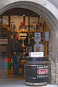 wine shop rue des marchands colmar alsace france