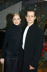 Dancers AGNES OAKES and THOMAS EDUR at The Critic's Circle National Dance Awards 2005 held at The Royal Opera House, Covent Garden on 19th January 2006.<br />