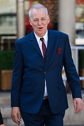 Royal Courts of Justice, London, May 24th 2017. TV presenter Michael Barrymore arrives at the High Court where he is suing the Essex Police for wrongful arrest in 2007, after a man who had been sexually assaulted drowned in his swimming pool several years before.