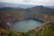 Belo Horizonte_MG, Brasil...Na foto Lago da Serra do Curral em Belo Horizonte, Minas Gerais.. .In the photo lake at the Serra do Curral in Belo Horizonte Minas Gerais...Foto: LEO DRUMOND / NITRO