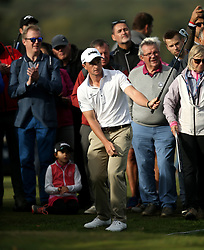 Paul Dunne during day two of the British Masters at Walton Heath Golf Club, Surrey.