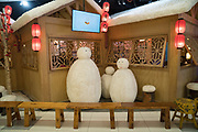 Christmas decorations, shopping mall