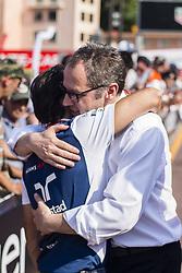 May 26, 2017 - Monaco, Monaco - Felipe Massa and Stefano Domenicalli during the Monaco Grand Prix of the FIA Formula 1 championship, at Monaco on 26th of 2017. (Credit Image: © Xavier Bonilla/NurPhoto via ZUMA Press)