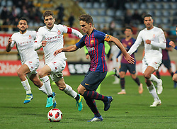 October 31, 2018 - Leon, Leon, Spain - Denis Suarez of Barcelona in action during the King Spanish championship, , football match between Cultural Leonesa and Barcelona, October 31, in Reino de Leon Stadium in Leon, Spain. (Credit Image: © AFP7 via ZUMA Wire)