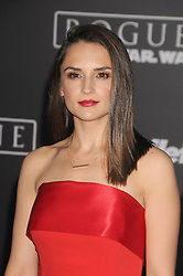 December 10, 2016 - Los Angeles, California, United States - December 10th 2016 - Los Angeles California USA - Actress RACHEL LEIGH COOK   at the World Premiere for ''Rogue One Star Wars'' held at the Pantages Theater, Hollywood, Los Angeles  CA (Credit Image: © Paul Fenton via ZUMA Wire)