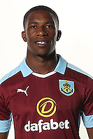 BURNLEY, ENGLAND - JULY 20:  Tendayi Darikwa of Burnley poses during the Premier League portrait session on July 20, 2016 in Burnley, England. (Photo by Barrington Coombs/Getty Images for Premier League)