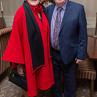 Concepta and Joe Lillis, Chairman of the Co Clare Agricultural Show Society at the Clare Limousin Breeders Annual Dinner Dance at the Bellbrige Hotel, Spanish Point on Saturday night