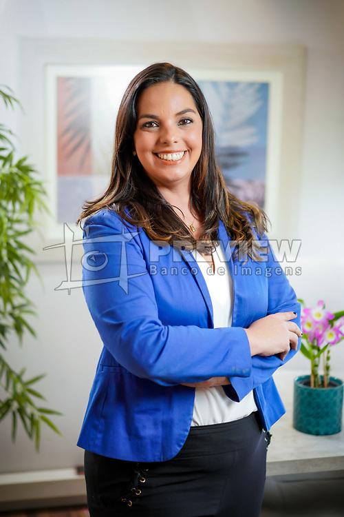 Paula Triches na sede do Schumacher Triches Advogados Associados FOTO: Jefferson Bernardes/ Agência Preview