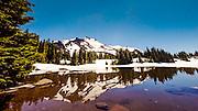Bay's Lake, Mount Jefferson, Oregon Jul 06, 2014