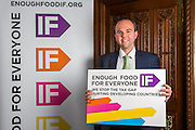 Gavin Barwell MP.supporting the Enough Food for Everyone?IF campaign. .MP's and Peers attended the parliamentary launch of the IF campaign in the State Rooms of Speakers House, Palace of Westminster. London, UK.