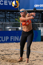Raisa Schoon (2) of Netherlands in action during CEV Continental Cup Final Day 1 - Women on June 23, 2021 in The Hague