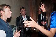 BELINDA AIRD; HARRY GOODER; INGRID MOYE; , The Tanks at Tate Modern, opening. Tate Modern, Bankside, London, 16 July 2012