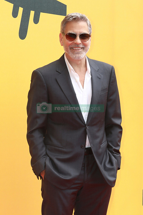 """Rome, photocall TV series """"Catch-22"""". In the photo: George Clooney"""